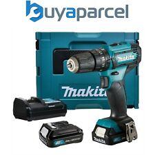 Makita HP 331 DWAE 10.8v 12v Max De Ion De Litio Taladro Inalámbrico CXT Combi 2 Baterías