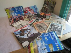 A Large Cache Lot of 80's Cycling Literature: Schwinn Shimano VeloNews & More