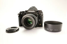 Nikon DF Camera Body (Black) - With 50mm f/1.8G Special Edition Lens