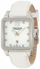 Louis Erard Women 20700AA14.BAV10 White Alligater Leather Diamond Watch