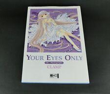 Manga Chobits Artbook Your Eyes Only CHI Photographs ###