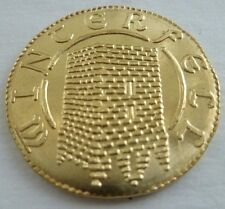 NEW Robb Stark Golden Half-Dragon Coin Game of Thrones Brass Shire Post USA 1/2