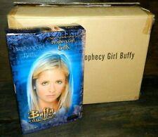 "SIDESHOW BUFFY THE VAMPIRE PROPHECY GIRL 12"" TV FIGURE NEW  WHITE DRESS NICE BOX"