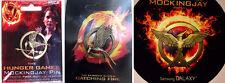 The Hunger Games Mockingjay Pin Set Variant - SDCC & NECA 2012, 2013, 2014 All 3