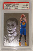 Pop 1!💎2012 Stephen Curry PANINI INTRIGUE SILVER #157 PSA 10 BGS ONLY 1 GRADED!