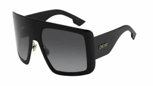 Authentic Christian Dior So light 1 0807/9O Black/Gray Gradient Women Sunglasses