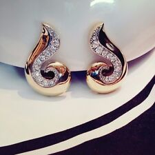 Pierre Lang Bijoux Earclips Fashion Jewellery Fashion Jewelry Gold Plated Rhinestone