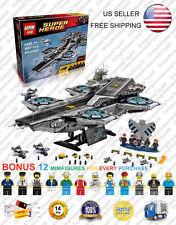 07043 The Shield Helicarrier 76042 Super Hero Avengers Custom Block 3057 Pcs