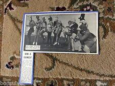 k2-2  ephemera 1966 margate picture round table bunny girls fancy dress