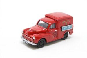 Classix 1:76 Transport Treasures EM76626 Morris Minor Van Royal Mail NEW