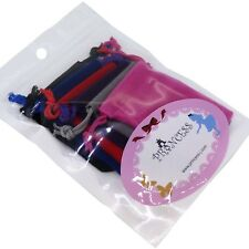 Wholesale Lot  of 6 Color Soft Velvet Pouches for Gift Packaging Bags 5cm x 7cm