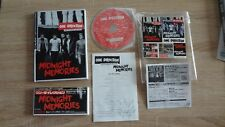 New One Direction Midnight Memories CD Book Complete w/Stickers! Japan Import