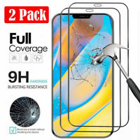 For iPhone 12/12 Mini/12 Pro Max Tempered Glass Full Coverage Screen Protector