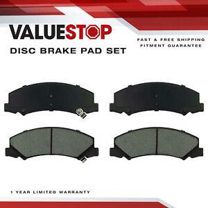 Max Brakes Front /& Rear Carbon Ceramic Performance Disc Brake Pads KT077853 Fits 2006-2011 Buick Lucerne V6