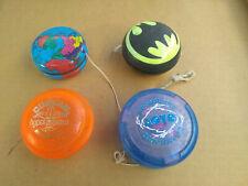 4 old vintage YOYO lot Duncan Batman Ohio Art DynamJ Laoye ** Vintage play toys