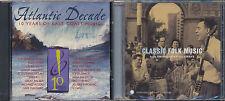 Atlantic Decade: Various Artists / Classic Folk: Smithsonian Folkways  (2 CDs)