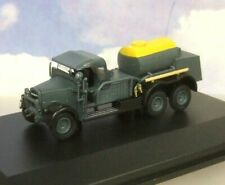 OXFORD DIECAST 1/76 FORD/FORDSON WOT1 CRASH TENDER RAF BOMBER COMMAND 76WOT003