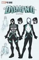 Domino #1 David Baldeon Design Variant (Marvel 2018)
