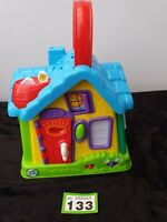 Leapfrog My Discovery House Talking, Light Up, Musical Toy. Push pull knobs fun