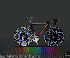 Bicycle Spoke LED Pattern Light Bike Wheel Custom Message Cycling Neon Light