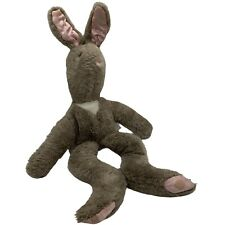"""Vintage 1984 Vermont Teddy Bear 18"""" Non-Jointed Bunny Rabbit Brown Limited Ed."""