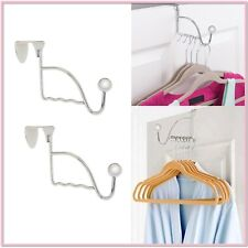 Over The Door Valet Clothes Hook   Set Of 2