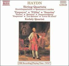 Haydn: The Emperor, Fifths and Sunrise Quartets, New Music