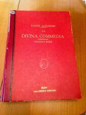 Dante Alighieri LA DIVINA COMMEDIA illustrata da Gustavo Doré Dore Sonzogno 1942