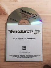 Dinosaur Jr. Don't Pretend You Didn't Know Promo / DJ CD 2013 PIAS