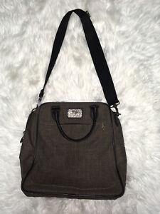 Hartmann Araw Tan & Black Nylon Carry-On Bag