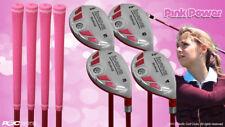 Petite Women's iDrive Golf Clubs Pink Hybrid (3-6) Partial Set Lady Flex Clubs