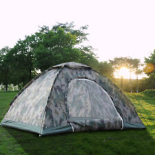 Outdoor Camping Tent 4 Person Travel Waterproof Folding Hiking Camo Canopies
