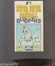 Super Duper Baseball Bloopers (VHS, 1998)
