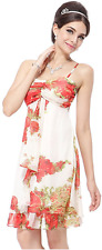 Ever Pretty Short Summer Club Dress For Women Red, 6