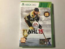 NHL 15 (Hockey sur glace) - Jeu vidéo - Console XBox 360 - PAL