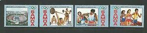 1984 LA Olympics set of 4  Complete MUH/MNH