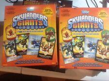 2  BOXS LOT 2013 TOPPS SKYLANDERS GIANTS BOX FACT SEALD.