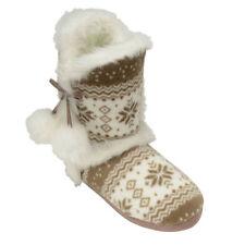 Pantofole da donna beigi marca Dunlop
