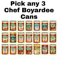 Chef Boyardee Pick any 3 Cans Mix & Match Flavorsz: Spaghetti & Meatballs & More