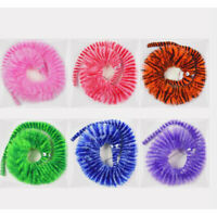 10 Pcs Colorful Supplies Magic Worm Toys Wiggly Kids Twisty Fuzzy Party Favors