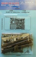 Aires 1/48 Arado Ar196 A-3 / A-4 cockpit set for Italeri kit # 4498
