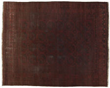 318x270 Cm Vecchio Tappeto VINTAGE Afgano Color Rosso #Galleriafarah1970-3714