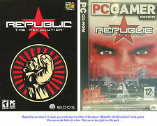 Republic: The Revolution by Eidos Interactive Adventure Game CD * New Ship Free