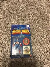 Marvel Super Heroes Secret Wars CAPTAIN AMERICA Mattel 1984 MOC Action Figure