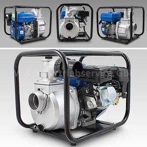 BITUXX Benzin Schmutzwasserpumpe Motorpumpe Kreiselpumpe Gartenpumpe Teichpumpe
