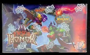 World of Warcraft TCG Fields of Honor Booster Box by Blizzard NEW FACTORY SEALED
