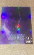 John Wick Chapter 2 Bluray Steelbook ~ Novamedia FULLSLIP 'A' No 165 of 800 Nova