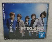 F.T Island FTIsland SATISFACTION Taiwan Ltd CD+DVD (Ver.A)