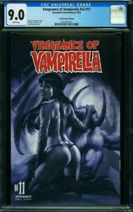 Vengeance of Vampirella 11 CGC 9.0 Tinted Edition Variant VF NM Lucio Parrillo
