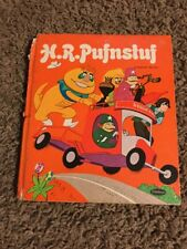 Vintage Children's Whitman Tell-A-Tale Book H.R. PUFNSTUF Sid & Marty Krofft